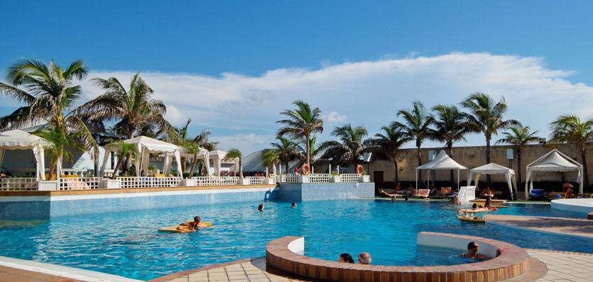 It also has the largest swimming pool of all the city hotels in Havana and Cuba!
