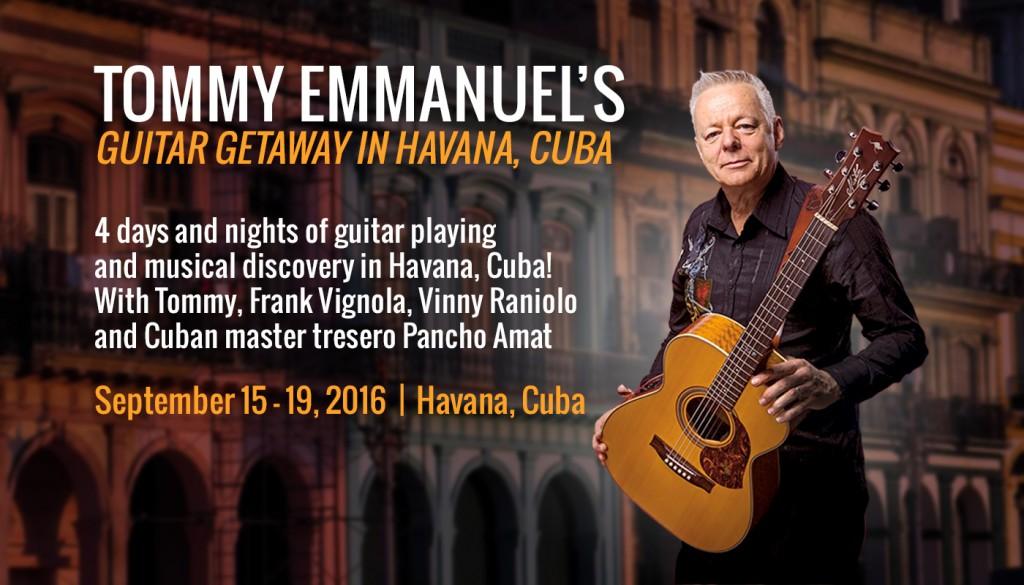 TommyEmmanuel HavanaCuba Banner No Button