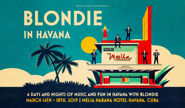 Blondie in Havanna